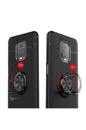 Hesaplı Dünya Xiaomi Redmi Note 9s Kılıf Selfie Yüzüklü Esnek Silikon Rvl 3