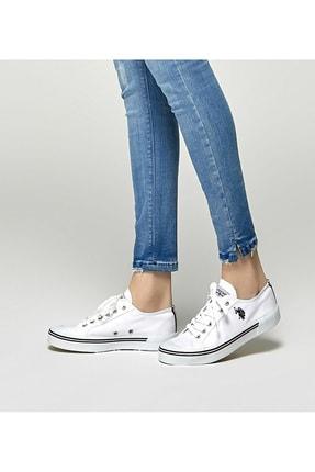 US Polo Assn U.s. Polo Assn. Kadın Spor Ayakkabı 8m Penelope Beyaz/White 20S04PENELOPE 0