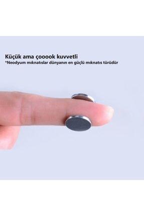 NeoHobi 10 Adet Neodyum Mıknatıs - Çok Güçlü - Çap:10m Kalınlık:1mm 4