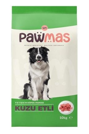 Pawmas Kuzu Etli Yetişkin Köpek Maması 10 Kg 1