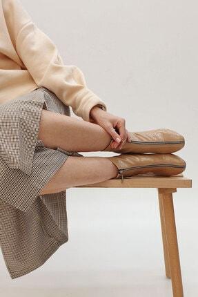 Marjin Miven Kadın Topuklu Botbej Rugan 1