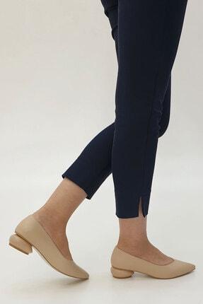 Marjin Kadın Bej Evara Günlük Topuklu Ayakkabı 1