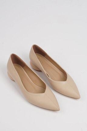 Marjin Kadın Bej Evara Günlük Topuklu Ayakkabı 3