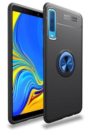 zore Samsung Galaxy A70 Kılıf A705 Selfie Yüzüklü Esnek Silikon Rvl 0