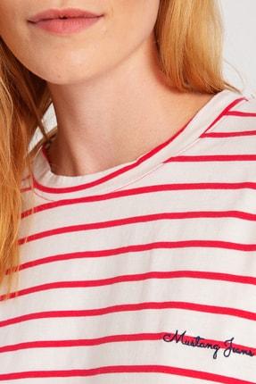 Mustang Kadın Önü Bağlamali T-Shirt 14-W00169-827 1
