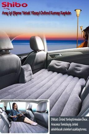 Shibo Araç Içi Şişme Araba Yatağı (arka Koltuk) + Pompa Hediye 2