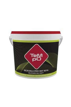 Tempo Silikonlu Ipek Mat Iç Cephe Duvar Boyası 7,5 Lt Renk:buz Beyazı 0