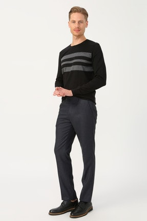 Cotton Bar Klasik Pantolon 0