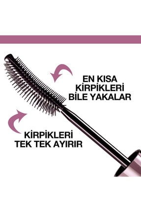 Maybelline Kıvrım Ve Hacim Etkili Ekstra Siyah Maskara - Lash Sensational Intense Black Mascara 3600531230906 4