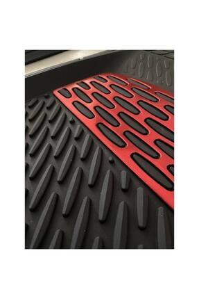 BigS Bmw 2 Serisi Kırmızı Krom Detaylı 4d Derin Havuzlu Paspas Seti 1