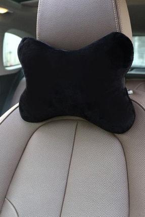 1araba1ev Mazda 6 Oto Koltuk Boyun Yastığı Seyahat Yastık 2 Adet Siyah 2