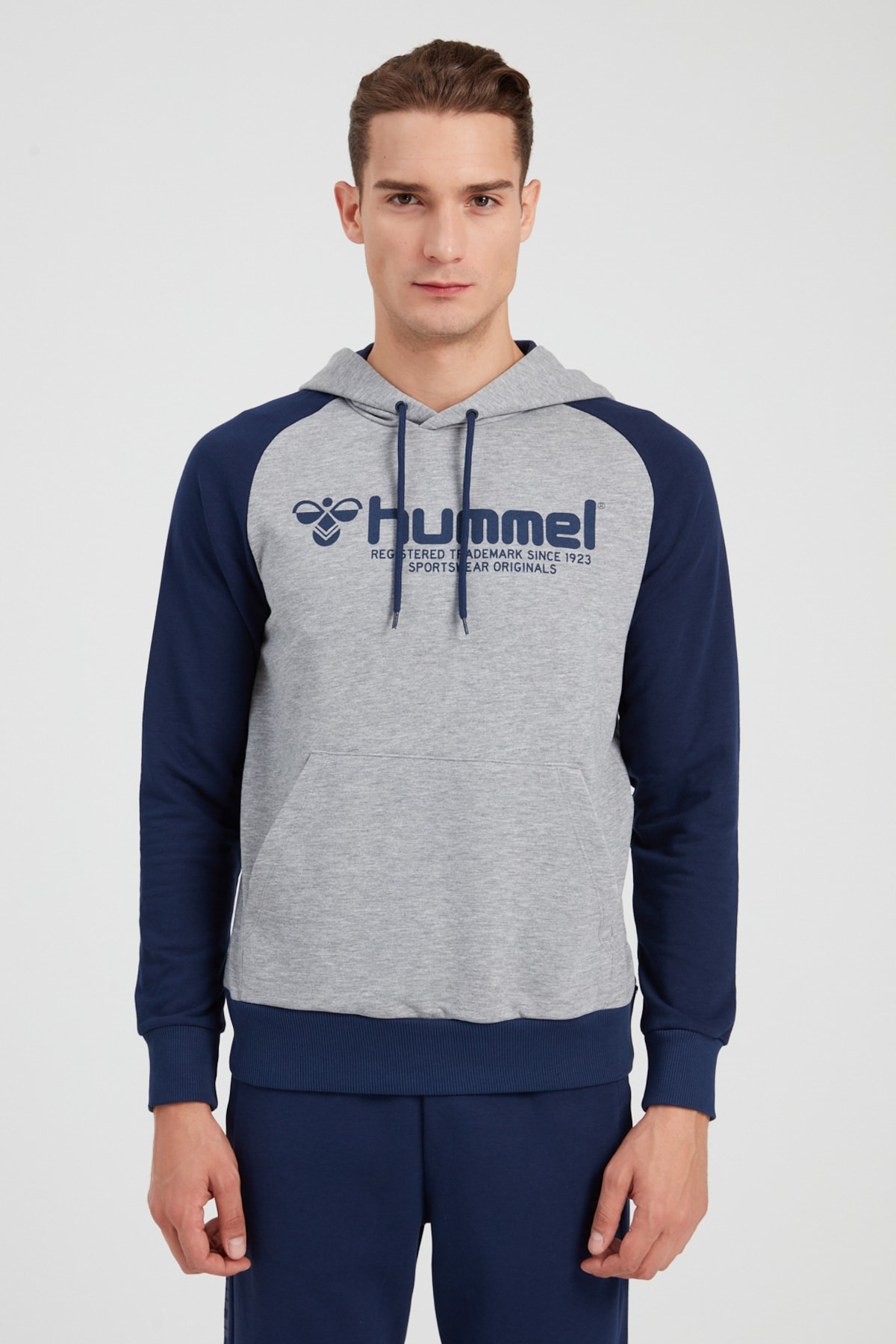 Erkek Spor Sweatshirt - Hmlregow Hoodie