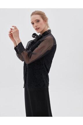 Kayra Kadın Siyah Bluz Ka-b20-10072 3