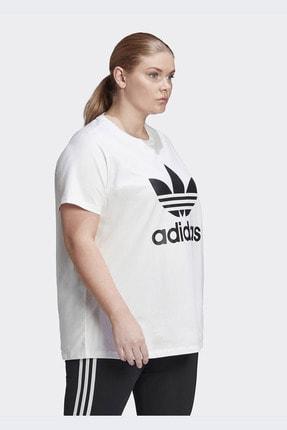 adidas Kadın Beyaz Günlük Trefoil Tee  T-shirt Gd2315 3