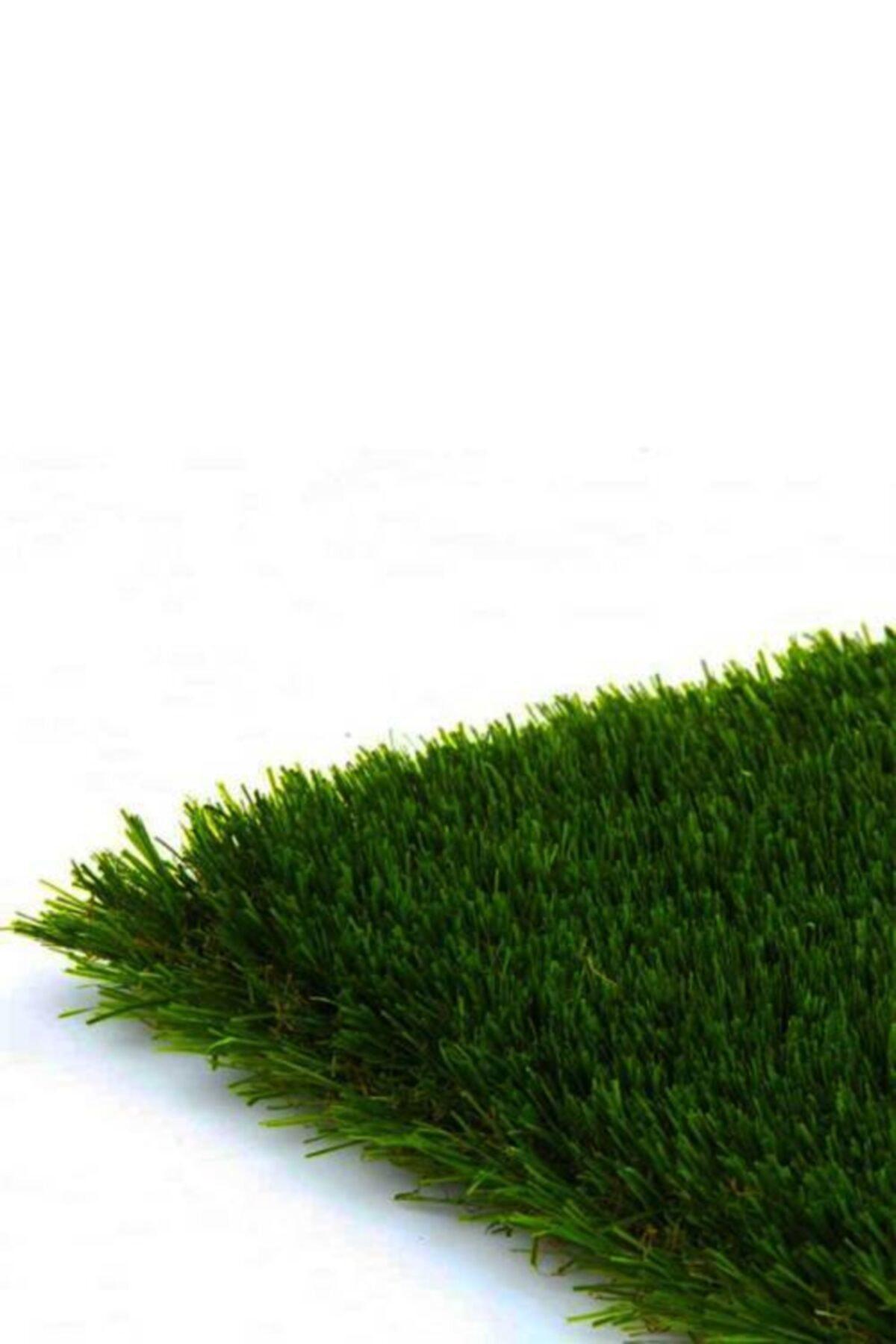 - Suni Yapay Çim Halı Serisi - 50mm - Yeşil - En 4 Metre - Çim Saha Kalitesi