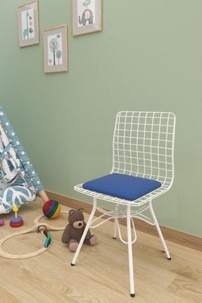 Evdemo Çocuk Tel Sandalyesi Mavi 0