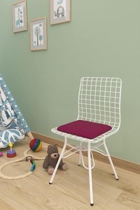 Evdemo Çocuk Sandalyesi Tel Mürdüm 0