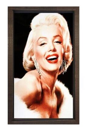 Deniz Çerçeve & Tuval Marilyn Monroe Tablosu Çerçevesiz-50x90 0