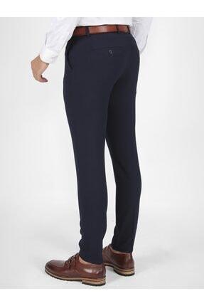 Mcr Erkek Lacivert Slim Fit  Kumaş Pantolon 1