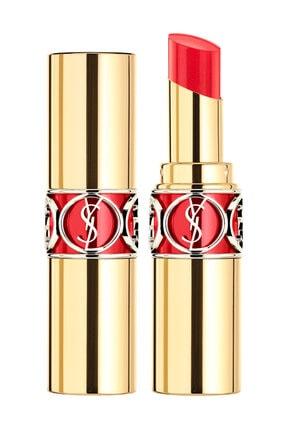 Yves Saint Laurent Rouge Volupté Shine Karşı Konulamayan Parlaklığa Sahip Ruj 12 - Corail Incandescent 3365440198043 0