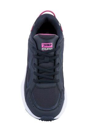 Jump Kadın Lacivert Pembe Spor Ayakkabı 24711 2