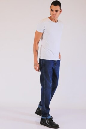 Twister Erkek Lacivert  Yüksek Bel Kot Pantolon 1