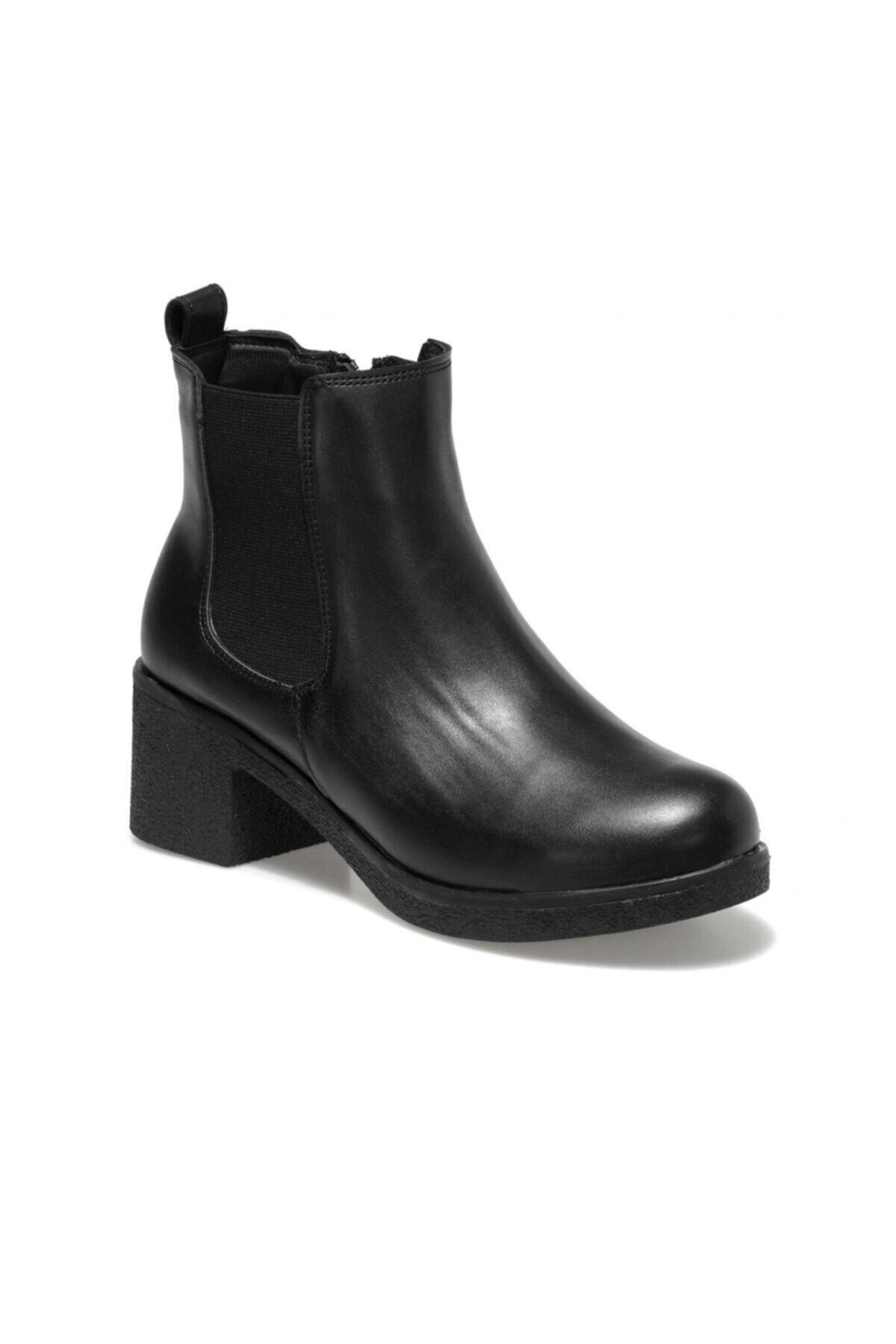 Polaris 161286.z Siyah Kadın Comfort Ayakkabı