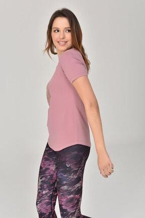 bilcee Pembe Büyük Beden Kadın T-Shirt GS-8131 1