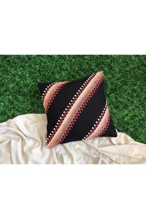 Handcraft Design Siyah Renk Kırlent 0