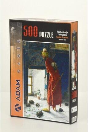 Kaplumbağa Terbiyecisi 500 Parça Puzzle 500 KAPLUMBAĞA TERBİYECİSİ