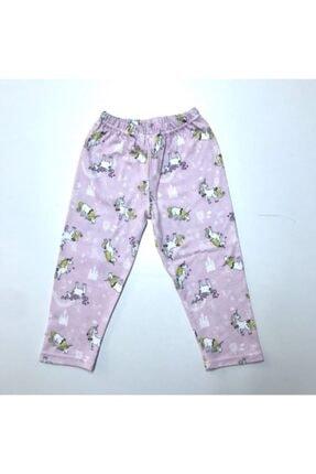 BUBİ GİYİM Kız Çocuk Pembe Unıcorn Pijama Takımı 3