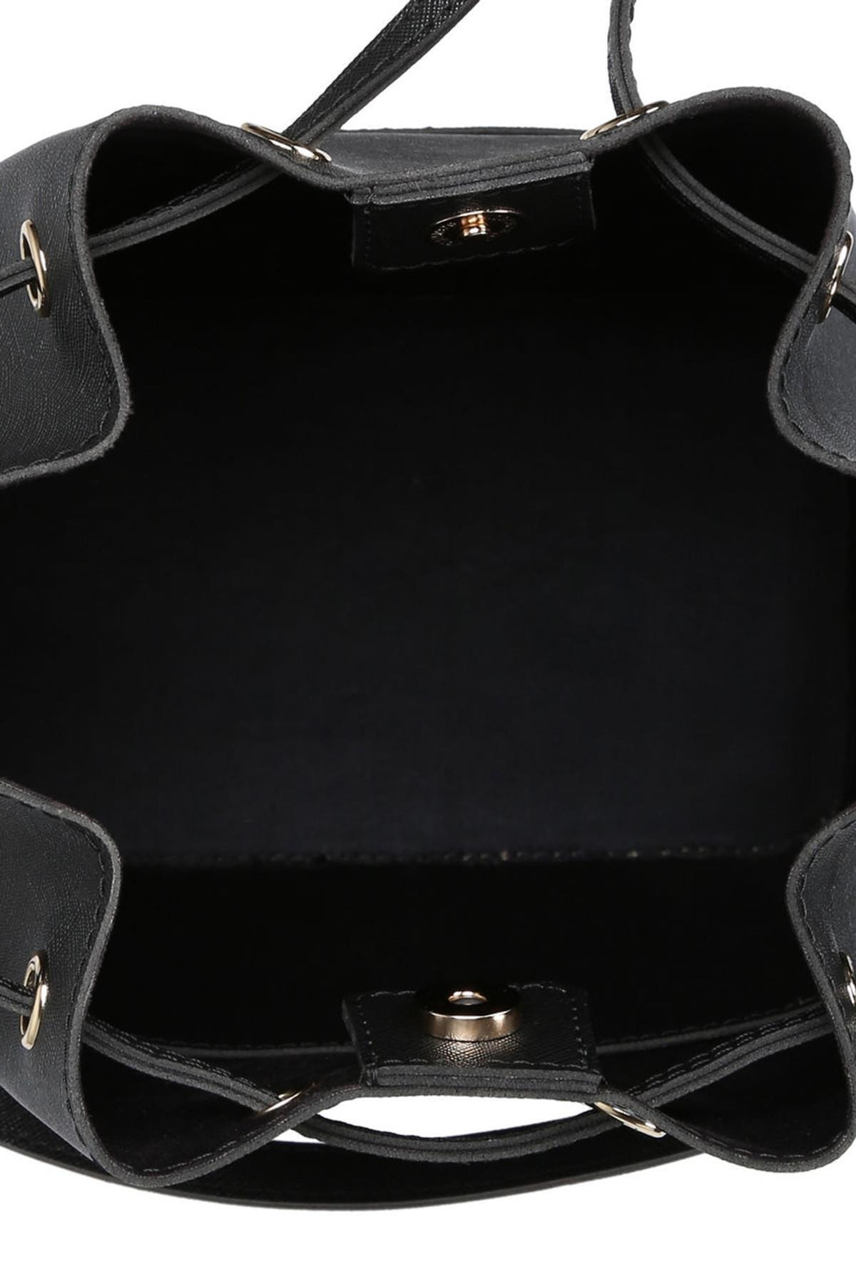 Beverly Hills Polo Club Kadın Büzgülü Omuz Çantası Siyah 2