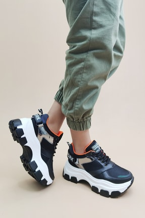 Ayax Kadın Siyah Sneaker 0