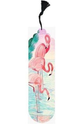 Metal Ayraç Flamingolar Kitap Ayracı r432cx3423
