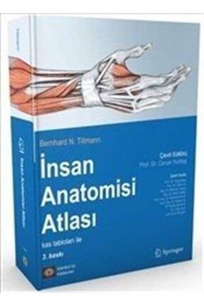 İstanbul Tıp Kitabevi Insan Anatomisi Atlası Kas Tablosu Ile 0