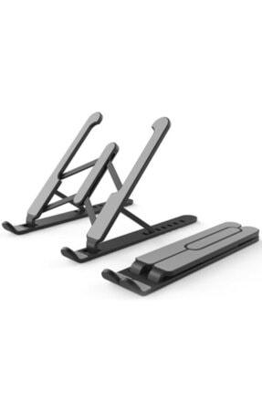 Pst Macbook Notebook Laptop Tablet Telefon Uyumlu Yükseklik Ayarlı Katlanabilir Stand 0