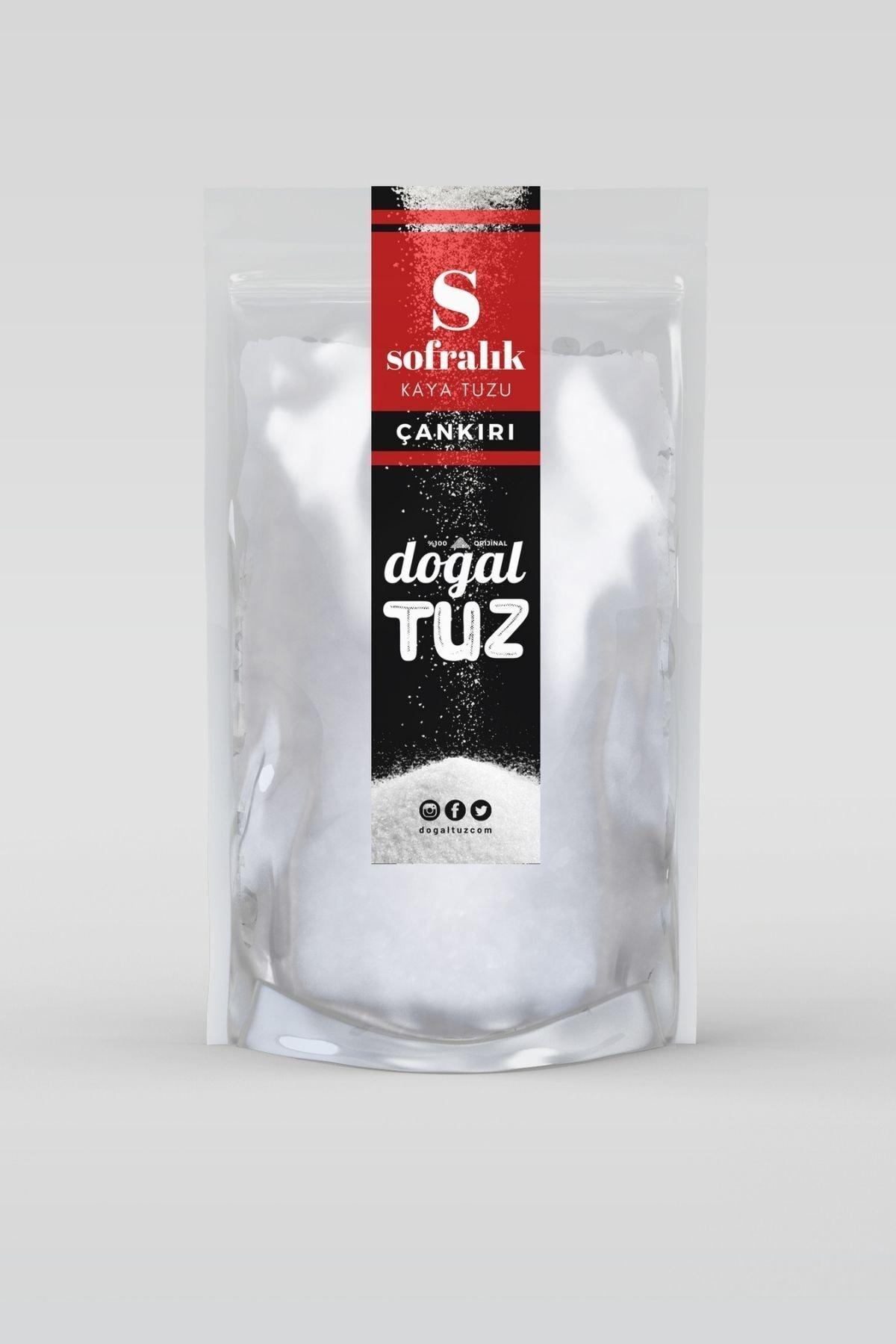 1 kg Orijinal Çankırı Kaya Tuzu Sofralık