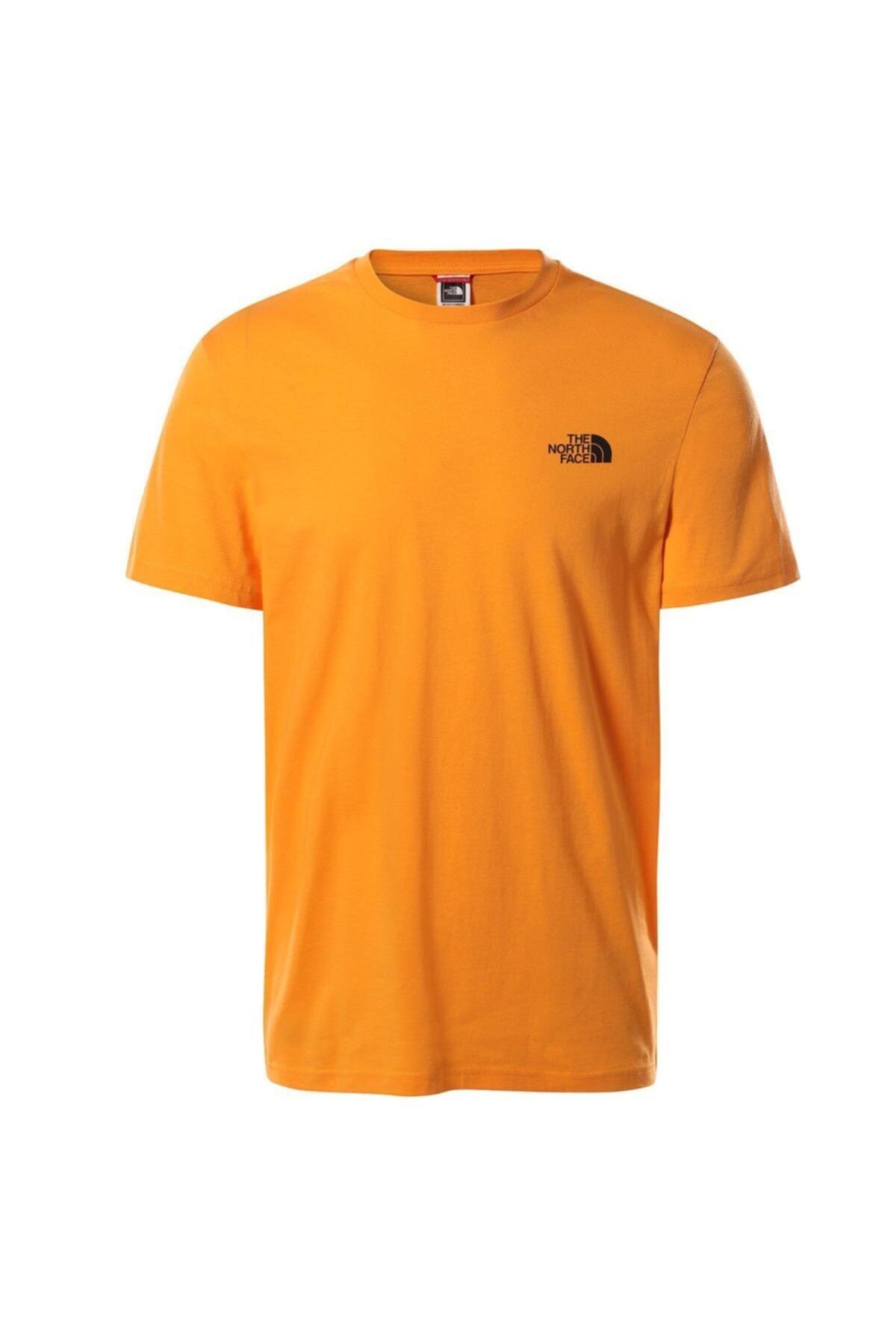 Erkek  Kahverengi Sımple Dome Tişört