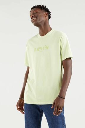 Levi's Ss Relaxed Fit Tee Ssnl Mv Logo Siyah Erkek T-Shirt 1