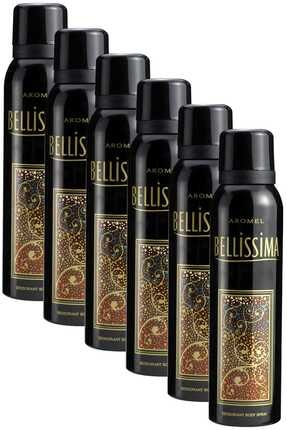 Bellisima 6 x 150 ml Kadın Deodorant 505617-6 0