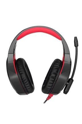 Onikuma Siyah K18 Profesyonel Mikrofonlu Kırmızı Led Işıklı Gaming Oyuncu Kulaklığı 3
