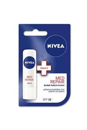 Nivea Lip Med Repair Dudak Bakım Kremi 4,8 gr 0