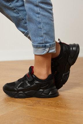 Tonny Black Siyah Çocuk Spor Ayakkabı Tb0019 1