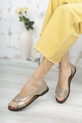 Moda Frato Kadın Sandalet Yazlık Ayakkabı Babet 0