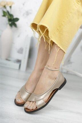 Moda Frato Kadın Sandalet Yazlık Ayakkabı Babet 1