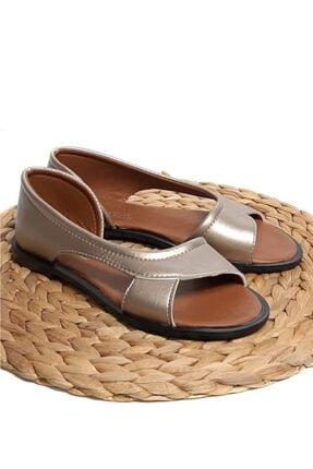 Moda Frato Kadın Sandalet Yazlık Ayakkabı Babet 3