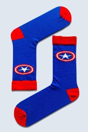 CARNAVAL SOCKS 7'li Marvel Karakter Renkli Çorap Set 1018 4