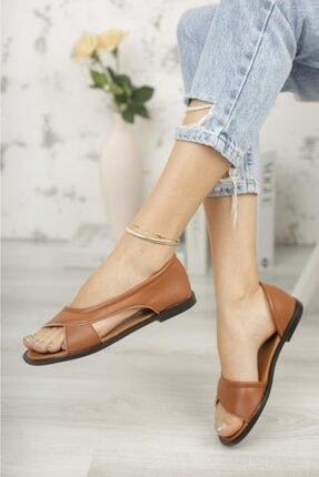 Moda Frato Pwr Açık Kadın Sandalet Yazlık Ayakkabı Babet 1
