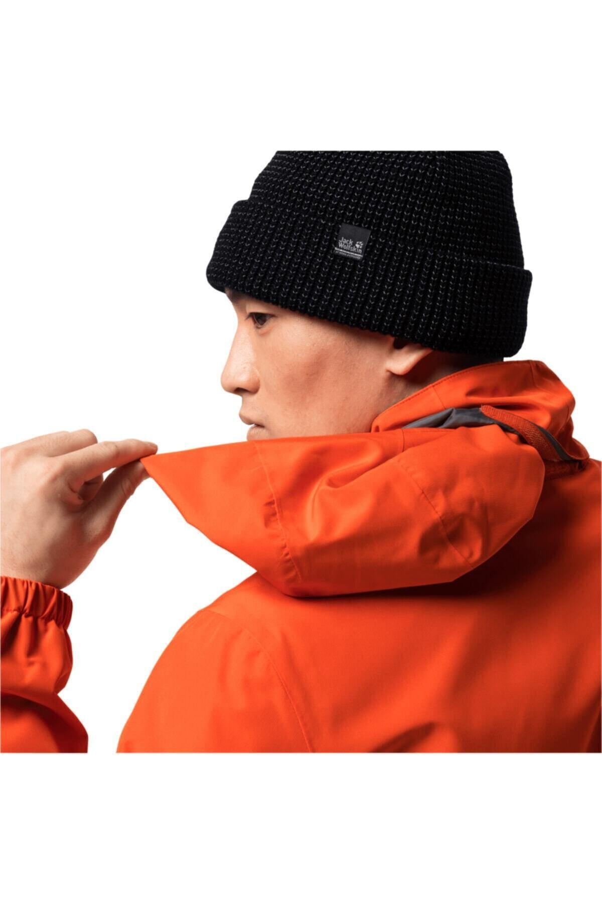 Jack Wolfskin Erkek Turuncu Stormy Poınt Erkek Outdoor Ceket