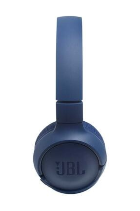 JBL T500BT Kablosuz Kulaküstü Kulaklık Mavi 1